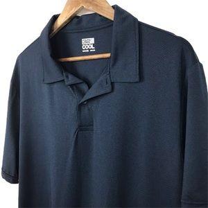 32 Degrees Cool Polo Shirt Navy Blue Size XXL